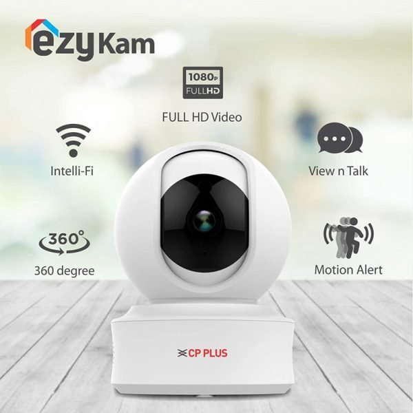 CP PLUS Intelligent Home PT Camera with Cloud Remote Viewing – 1080 Full HD