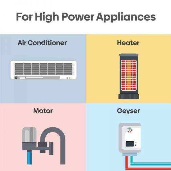 Helea 16A Wi-Fi Smart Plug High Power Appliances