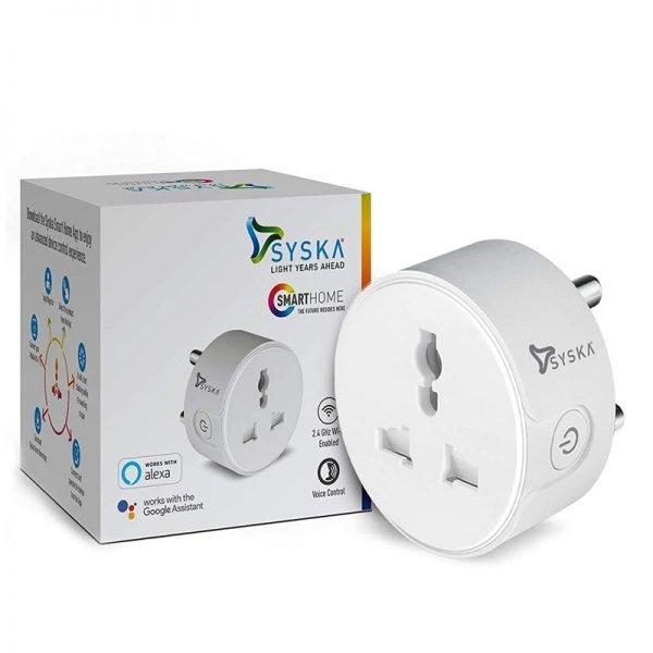 Syska SSK-ABS Smart Wi-Fi Enabled Plug