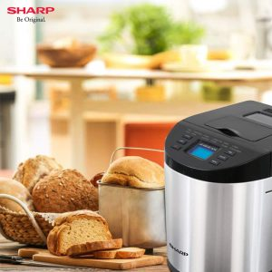 Sharp Table-Top Bread Maker for Home- Kitchen | Fully Automatic Functions